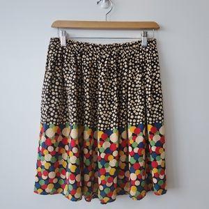 Anthropologie Corey lynn calter silk skirt